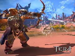 Exclusivité : le gameplay de l'archer de Tera