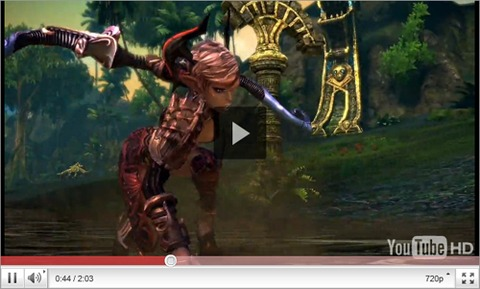 Tera class visualisation on youtube