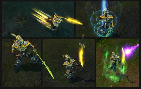 Refonte visuelle et gameplay de Maître Yi