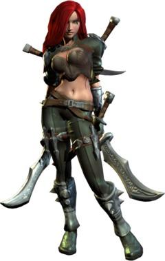 Katarina, modèle IG