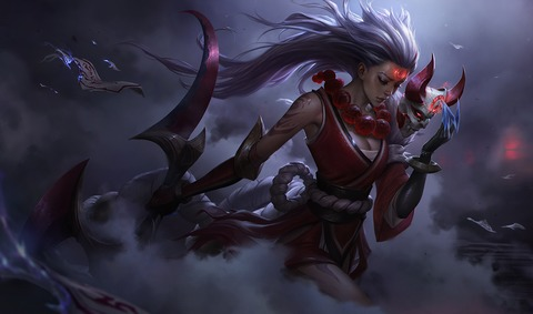 Blood Moon Diana
