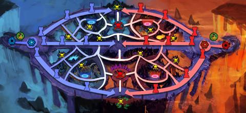 Carte de la Chambre du Magma