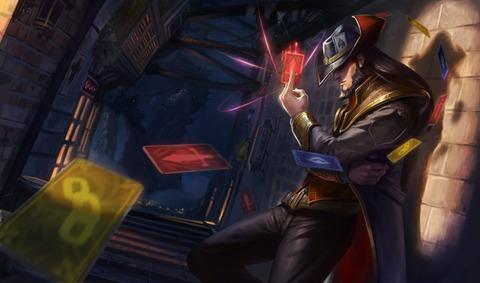 Refonte graphique : Twisted Fate, Maître des cartes