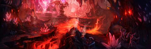 Carte : La Chambre du Magma s'illustre