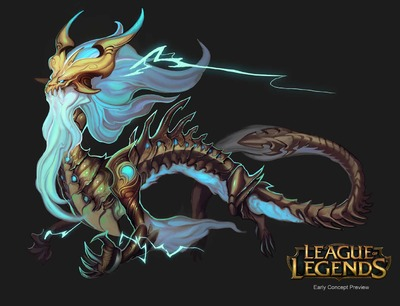 Aperçu d'un nouveau champion de League of Legends : Ao Shin