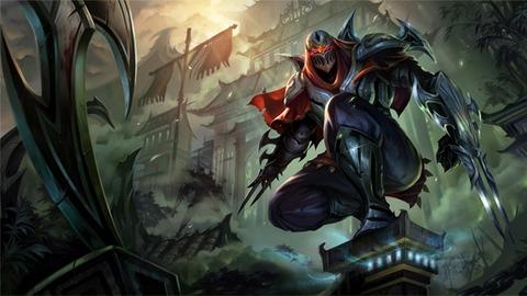Zed, Maître des ombres