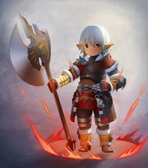 Warrior par mumuwangzuge