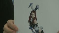 Version alternative de la tenue de Bunny (les oreilles se plient)