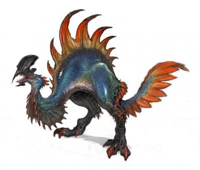 Image conceptuelle d'un drole d'oiseau pour la v2