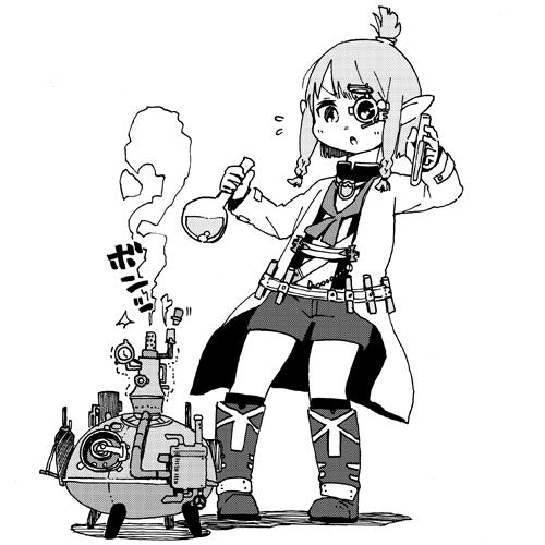 Alchemist Lalafell par Kemuhoko