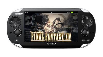 Des applications Final Fantasy XIV sur PSVita et les smartphones.