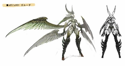 Garuda, primordial des Ixali