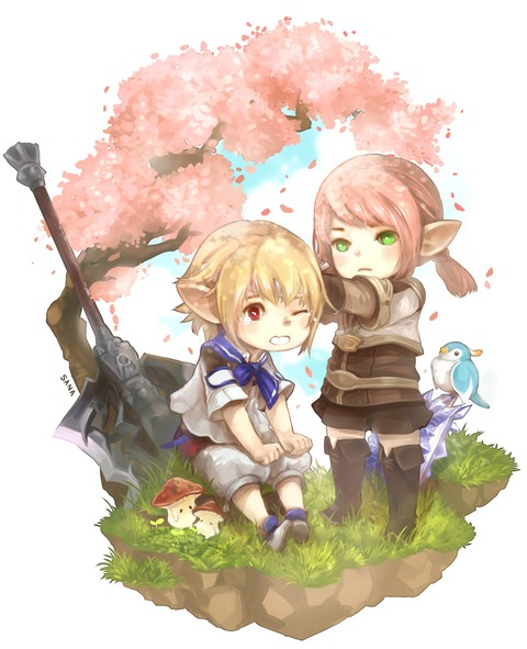 Lumi and Cyrn par sana