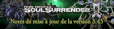 Final Fantasy XIV Online - Final Fantasy XIV Soul Surrender passe en version 3.45