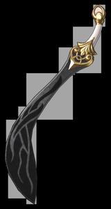 Un sabre de gladiateur