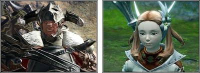 guerrier et mage blanc