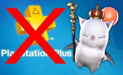 Pas besoin d'un abonnement PS+ pour jouer à FFXIV ARR sur PS4