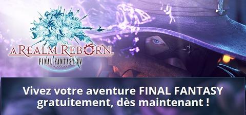 Final Fantasy XIV Online - Essayez gratuitement FFXIV ARR pendant 14 jours dés maintenant
