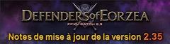 Final Fantasy XIV accueille la mise à jour 2.35
