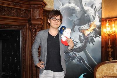 Naoki Yoshida et sa mascotte