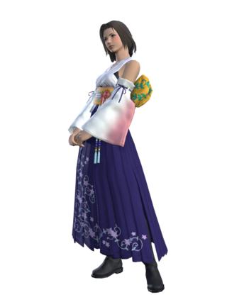 tenue yuna