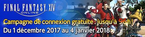 Final Fantasy XIV Online - Campagne de connexion gratuite en décembre
