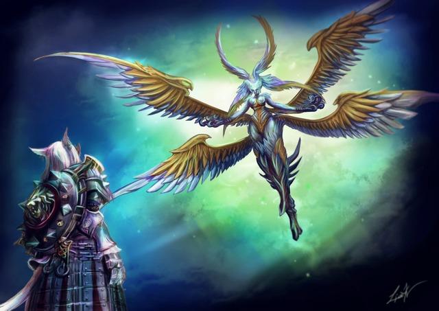 Howling Eye / Garuda / FFXIV par liark2z