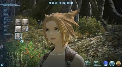 Création de personnage (alpha test)