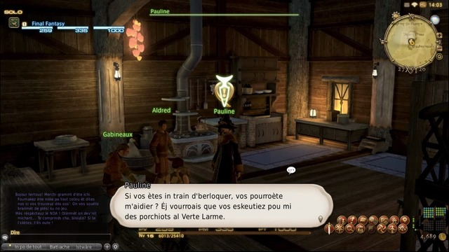 Final Fantasy XIV : Eùl Pèis Rabistokeu