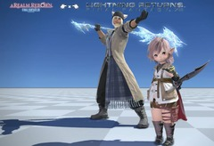 Costume de Lightning et Snow