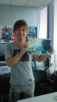 Concours Fan-Art : Naoki Yoshida en scène