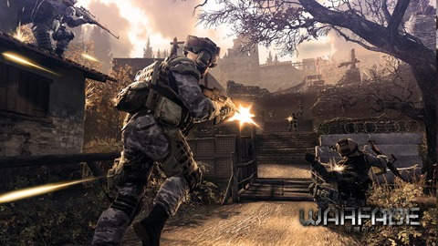 Crytek annonce le MMOFPS Warface