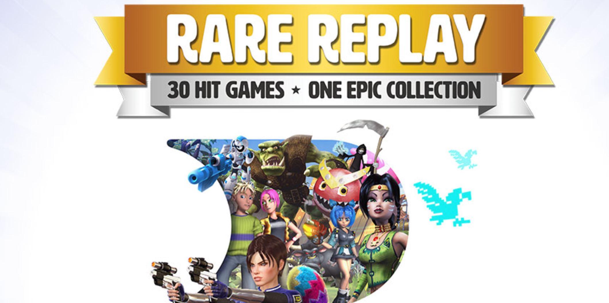 Cliquez sur l'image pour la voir en taille réelle  Nom : Rare-Replay.jpg Affichages : 59 Taille : 181,3 Ko ID : 266480