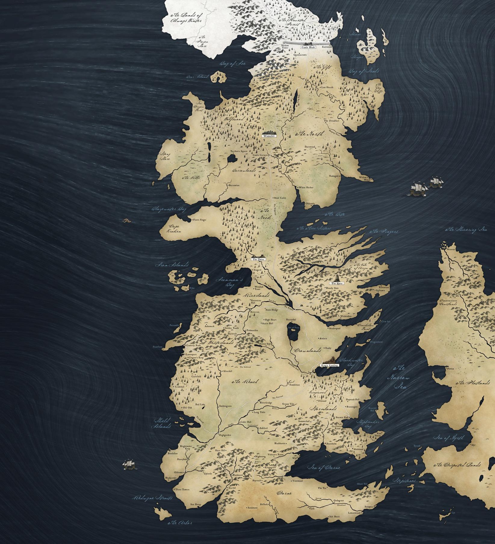 Cliquez sur l'image pour la voir en taille réelle  Nom : WesterosMap.jpg Affichages : 1417 Taille : 995,1 Ko ID : 133201