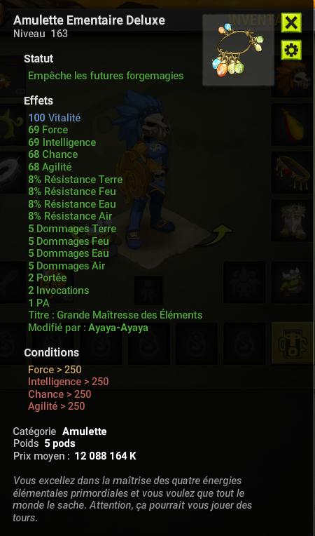 Estvds Amulette Ementaire Deluxe Quasi Perf 100 Vita