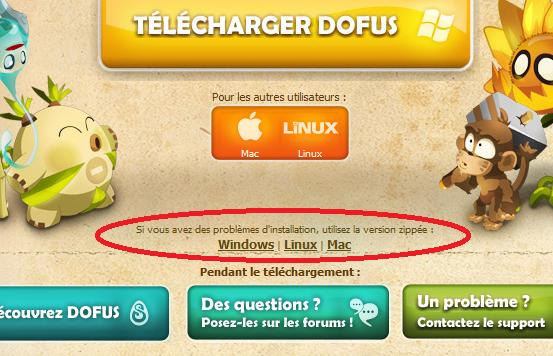 telecharger dofus pour linux
