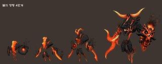 Cliquez sur l'image pour la voir en taille réelle  Nom : fire_elemantal_s.jpg Taille : 1280x512 Poids : 245,6 Ko ID : 20621