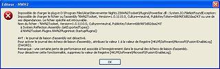 Cliquez sur l'image pour la voir en taille réelle  Nom : erreur.JPG Taille : 792x250 Poids : 51,5 Ko ID : 27623