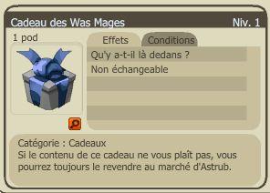 Cadeau des was mages dofus