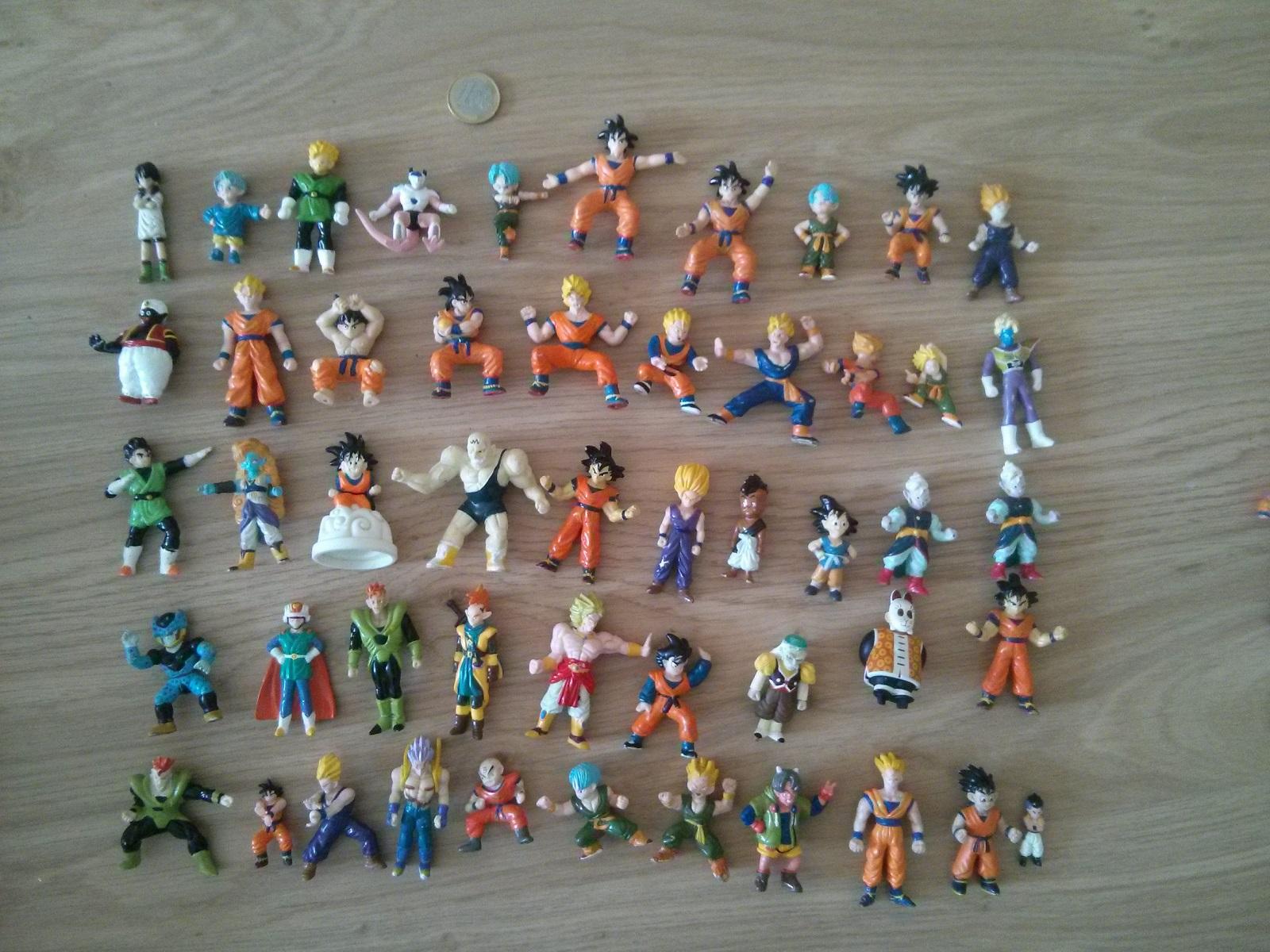 figurines dragon ball 1989