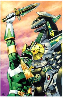 Cliquez sur l'image pour la voir en taille réelle  Nom : Green_Ranger_and_Dragonzord_by_sonicfan1987.jpg Taille : 600x926 Poids : 225,8 Ko ID : 222086