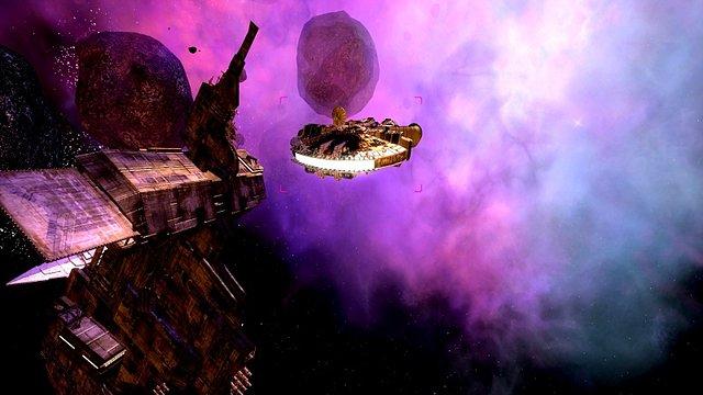 SWG : mod ILM + restoration des nébuleuses + Nvidia Inspector - Star