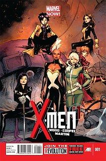 Cliquez sur l'image pour la voir en taille réelle  Nom : X-Men_Vol_4_1.jpg Taille : 572x869 Poids : 146,2 Ko ID : 223438
