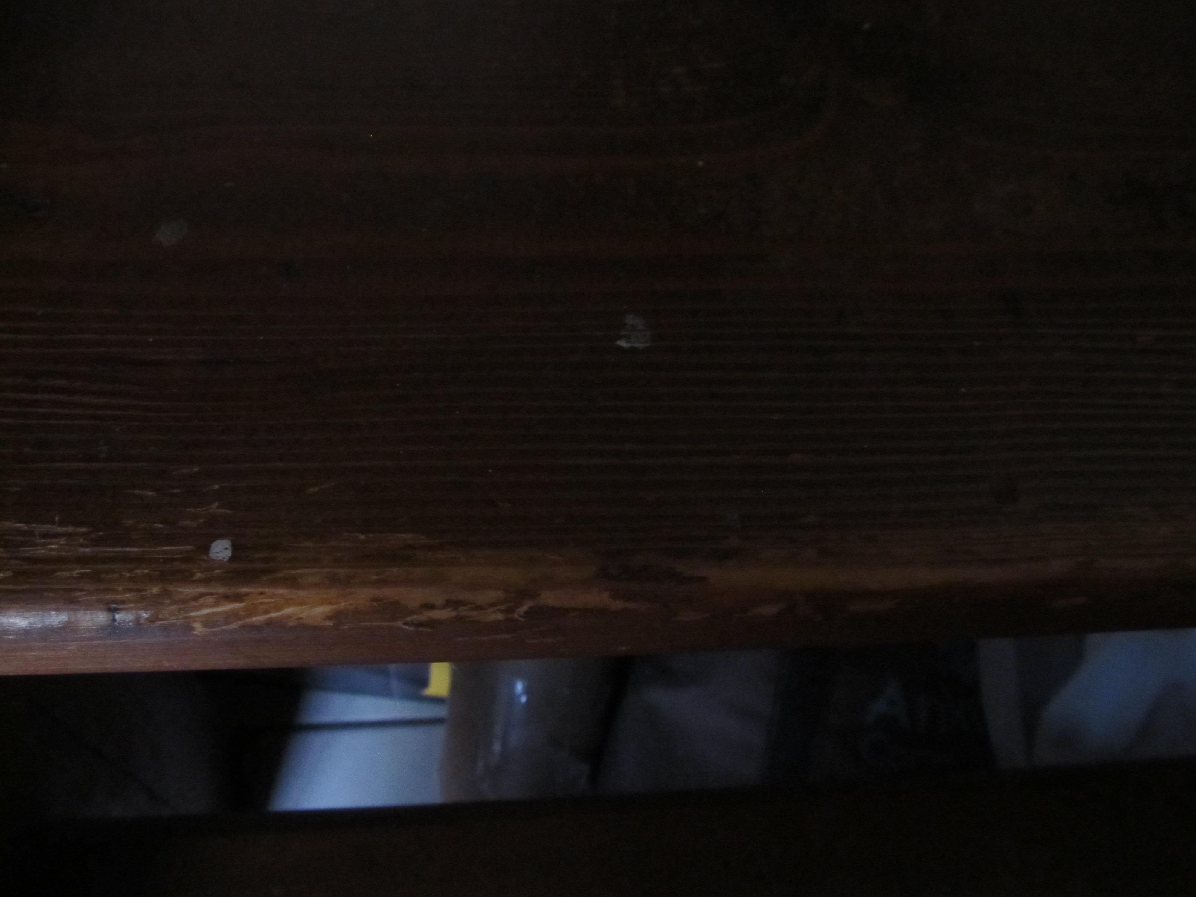 Enlever Brou De Noix Mains effacer des traces de méfaits félins sur les marches d'un