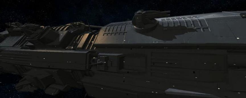"Présentation du Battleship ""Bellerophon"" et SSAO"