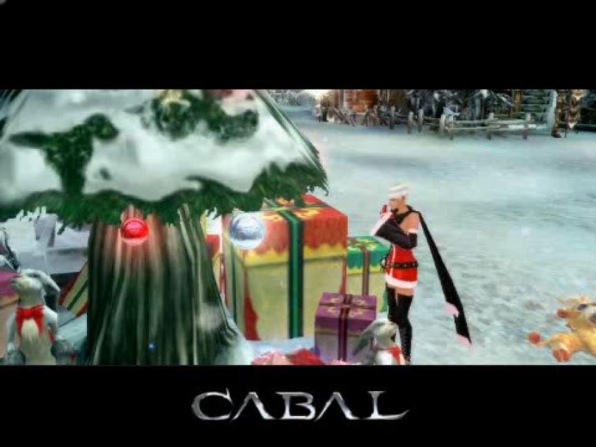Joyeux Noël sur Cabal Online