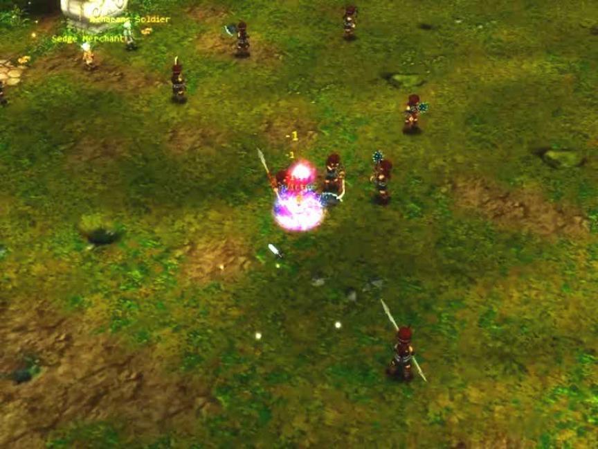 Les compétences de prêtre de Gods War Online