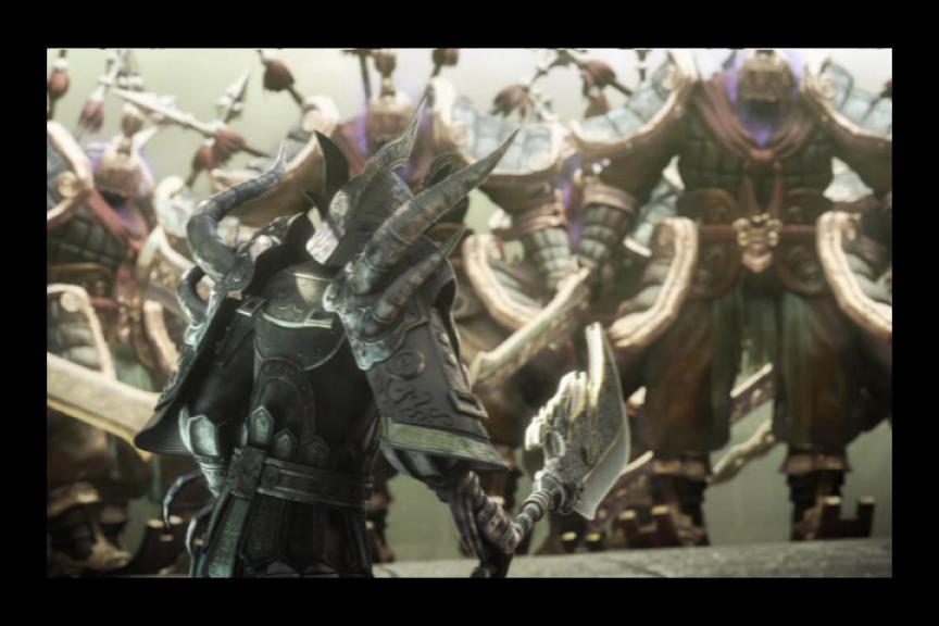 Cinématique de Légende 4 : La tombe de l'empereur Qin-Shi