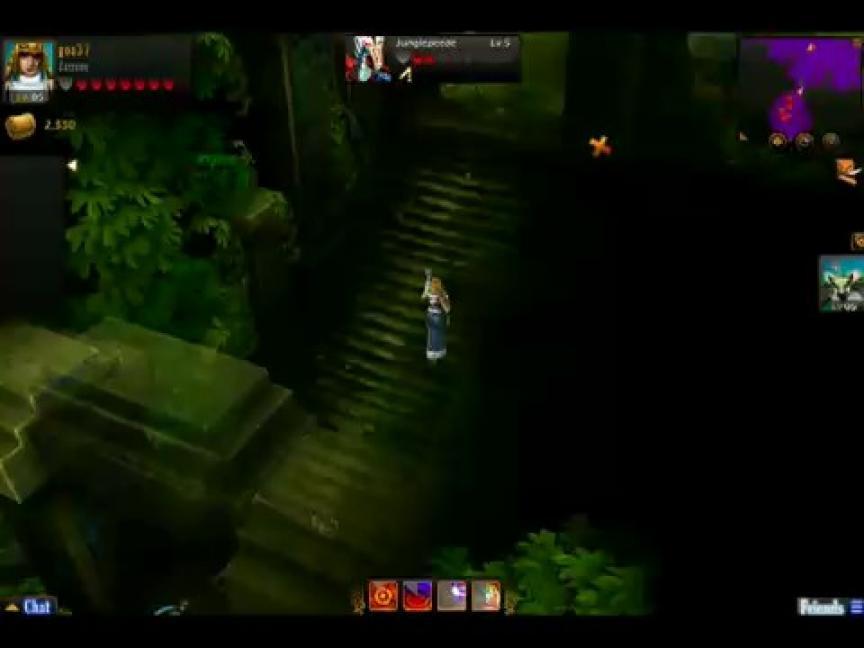 Le gameplay de Warrior Epic : Assassin et pangolan