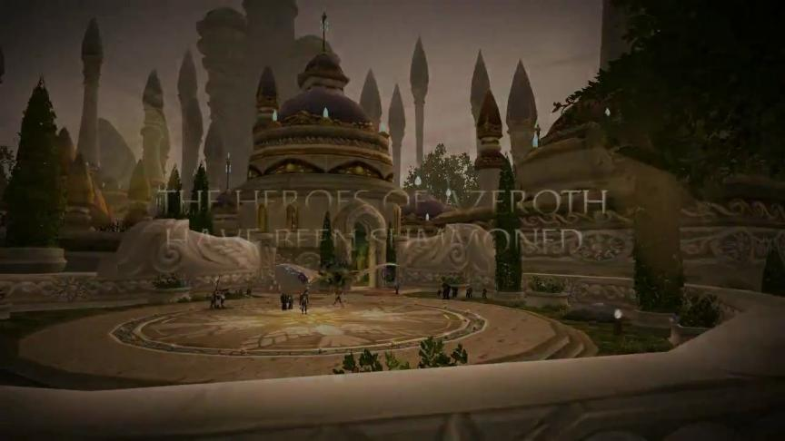 Bande annonce de Call of the Crusade (World of Warcraft patch 3.2)